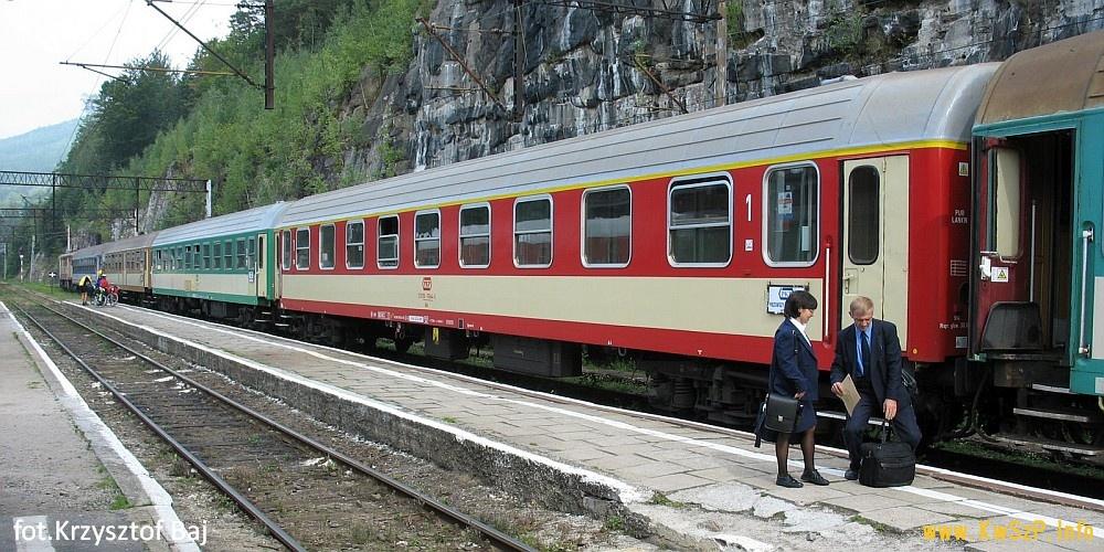 Szklarska Poręba Górna wagony standardu Y 110A, 609A, 111A i 112A