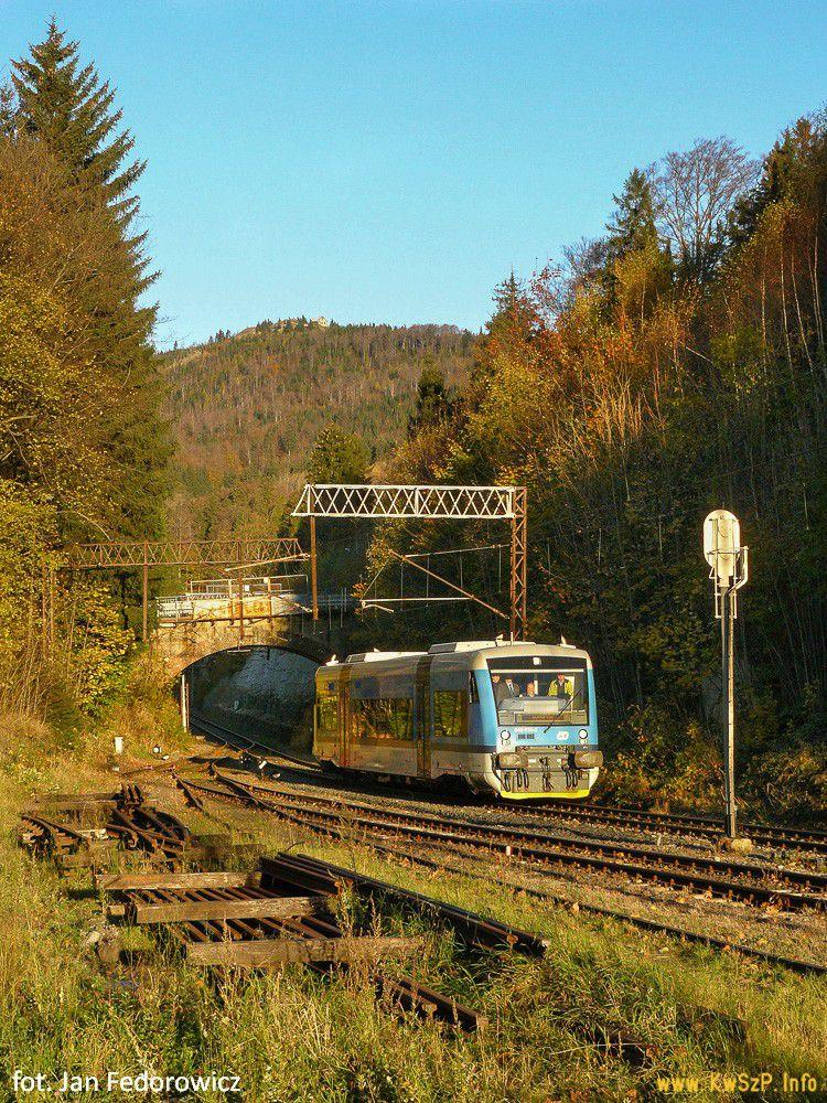 pociąg Szklarska Poręba Harrachov Regio Shuttle