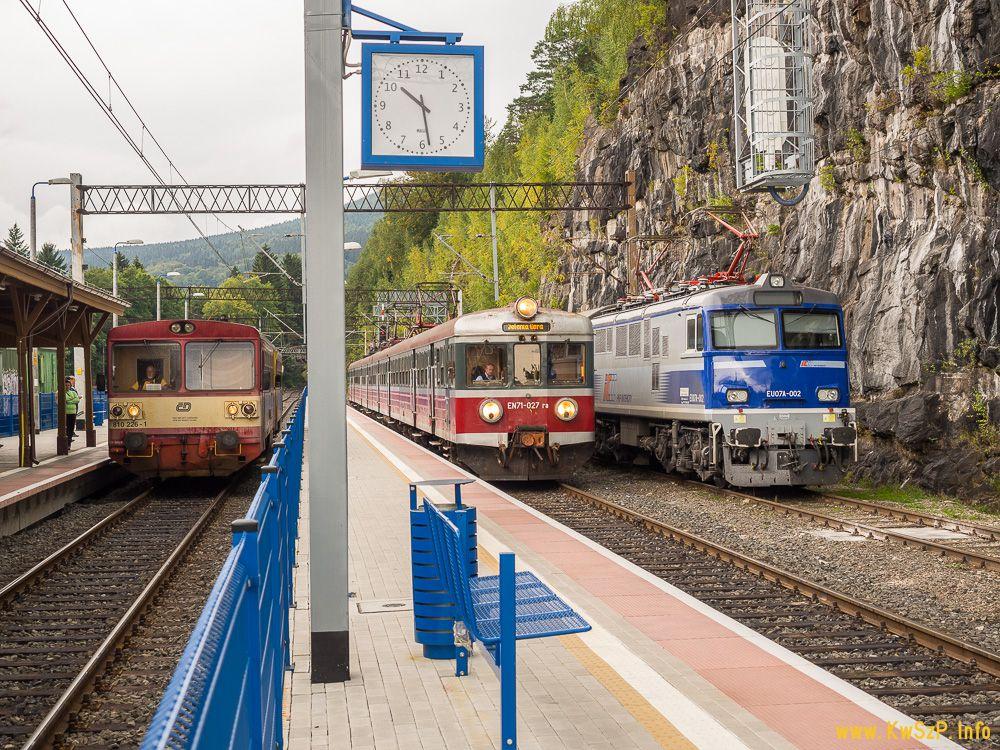 Szklarska Poręba Górna 810, EN57, EU07A