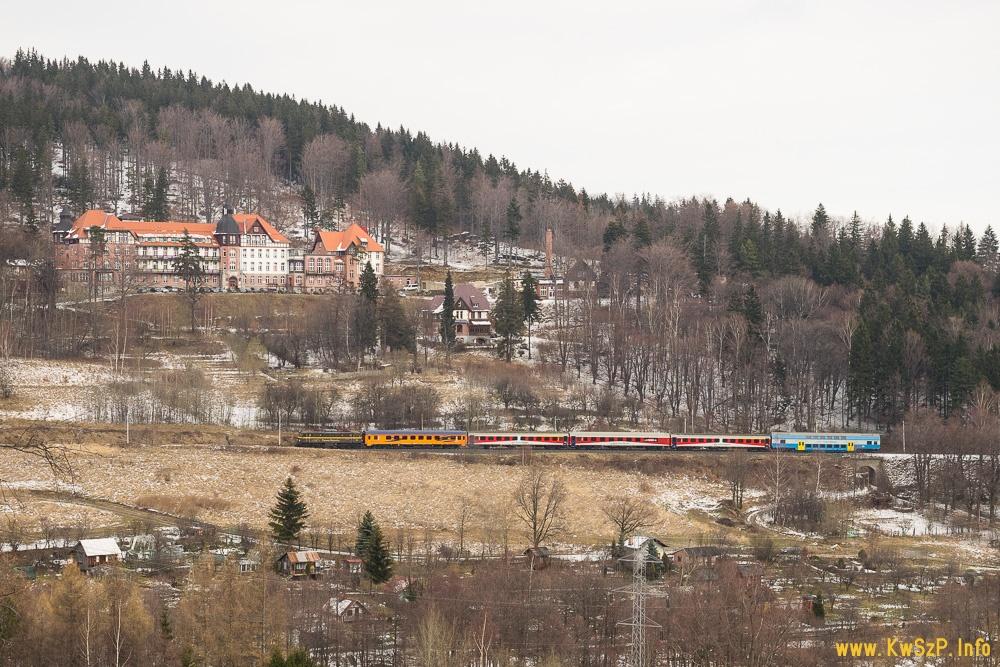 pociąg Szklarska Poręba Wrocław Poznań Kamieńczyk