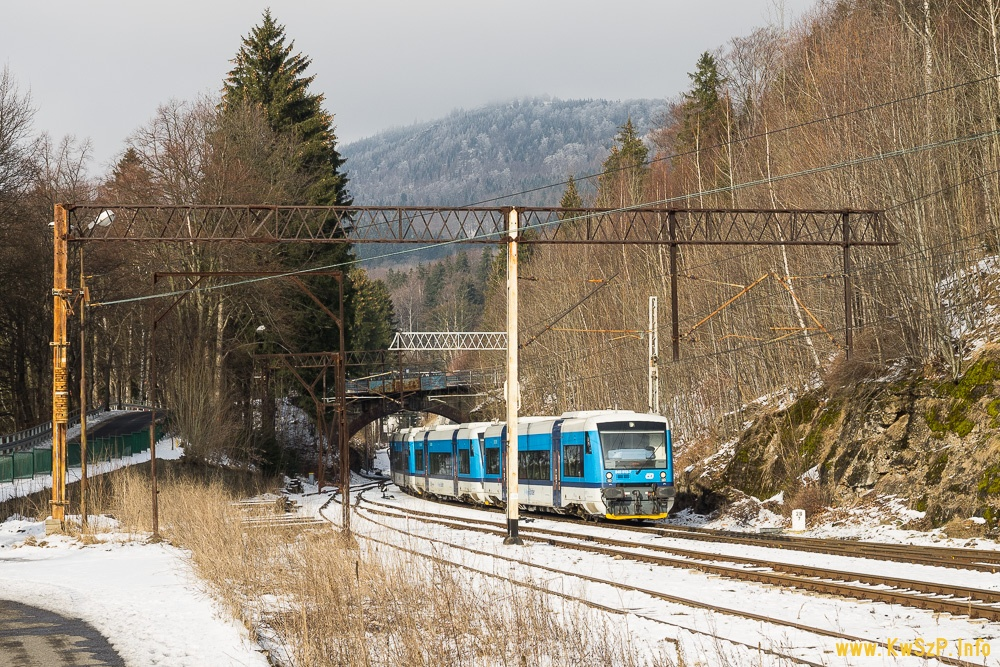 pociąg Szklarska Poręba Liberec RegioSpider