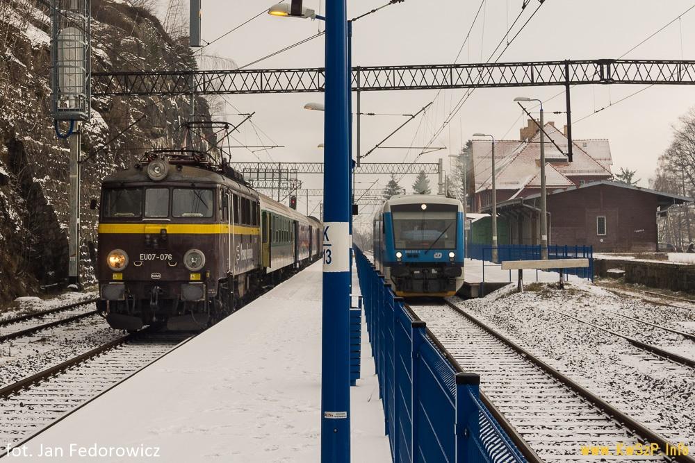pociąg Szklarska Poręba Jelenia Góra Wrocław Poznań Kamieńczyk