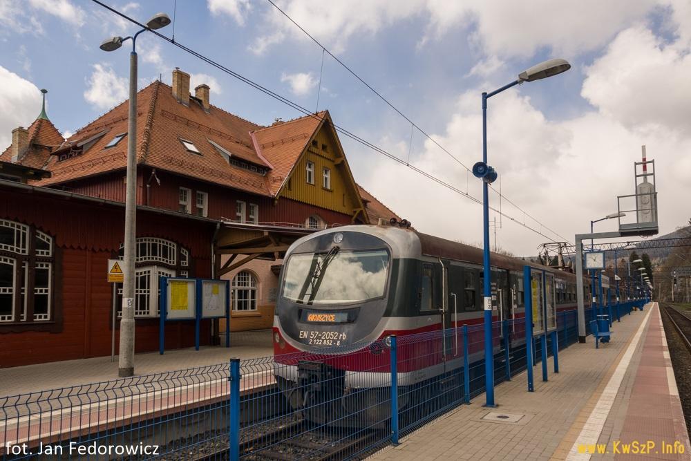 pociąg Kamieńczyk Poznań Szklarska Poręba