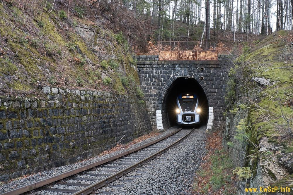 Szklarska Poręba Dolna tunel ED161